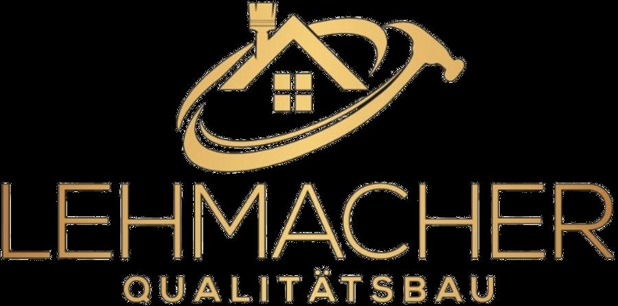 Lehmacher Qualitaetsbau Logo gold